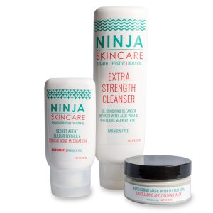 Acne Treatment For Oily Skin Ninja Skincare